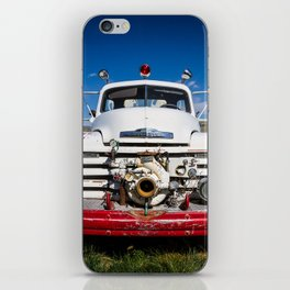 Old Fire Engine iPhone Skin