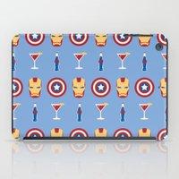 superheroes iPad Cases featuring Superheroes by Kelslk