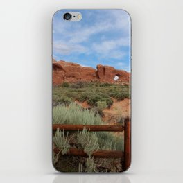 Vertical Arches National Park iPhone Skin