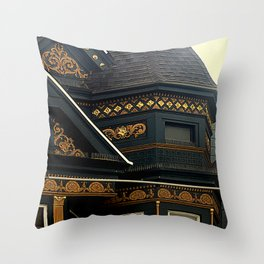 Old Brass With Top Gold - Nailed It Throw Pillow