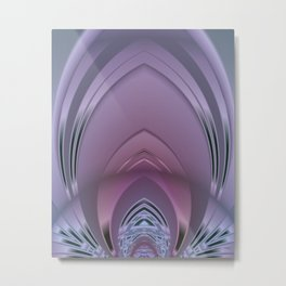 Deco Sanctuary Abstract Metal Print