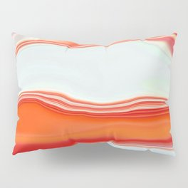 Clamshell Abstract Pillow Sham