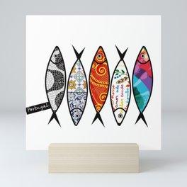 Sardine 5 Mini Art Print
