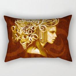 The Crowned Rectangular Pillow