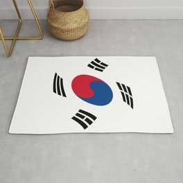 flag of south korea 2 -korea,asia, 서울특별시,부산광역시, 한국,seoul Rug
