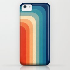 Retro 70s Color Palette III iPhone 5c Slim Case
