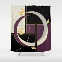 Leaves falling on Rodeo Drive Shower Curtain