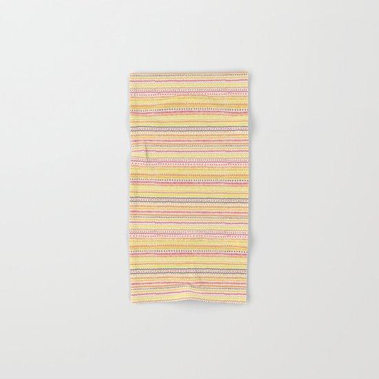 Summer Pattern Hand & Bath Towel