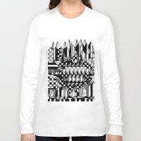 geo Long Sleeve T-shirts featuring Geo by Eva Bellanger