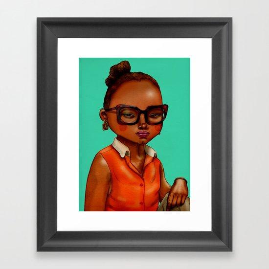 Asa Framed Art Print