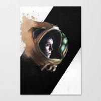 ripley Canvas Prints featuring Ripley by maxandr