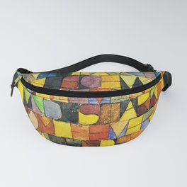 Paul Klee Once Emerged from the Gray of Night Fanny Pack