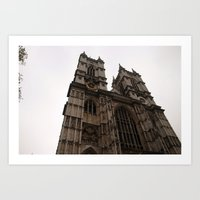 Westminster Abbey; London, England Art Print