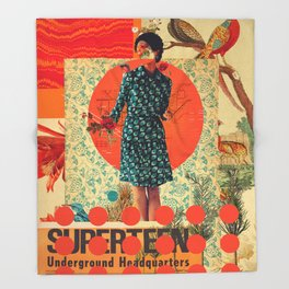 Superteen Throw Blanket