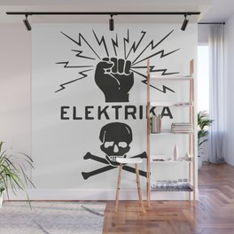 Electric sign Wall Mural