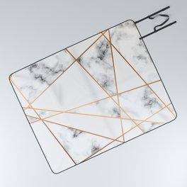 Marble Geometry 054 Picnic Blanket