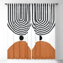 Abtract Modern Blackout Curtain