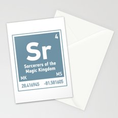 Sorcerers of the MagicKingdom element Stationery Cards