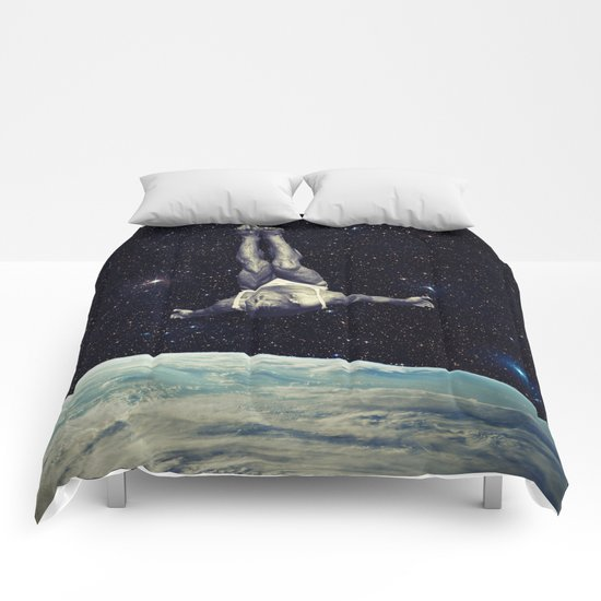 Jumping Comforters
