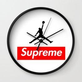 Supreme Jordan Wall Clock