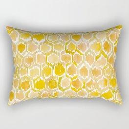 GOLDEN HONEYCOMB Rectangular Pillow
