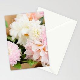 Dahlia Bouquet Stationery Cards