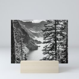 Forest Lake Retreat - Crater Lake Mini Art Print