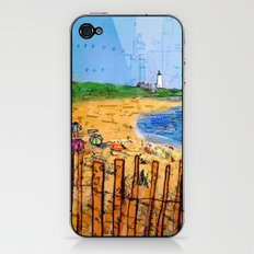 Summer down the Cape iPhone & iPod Skin