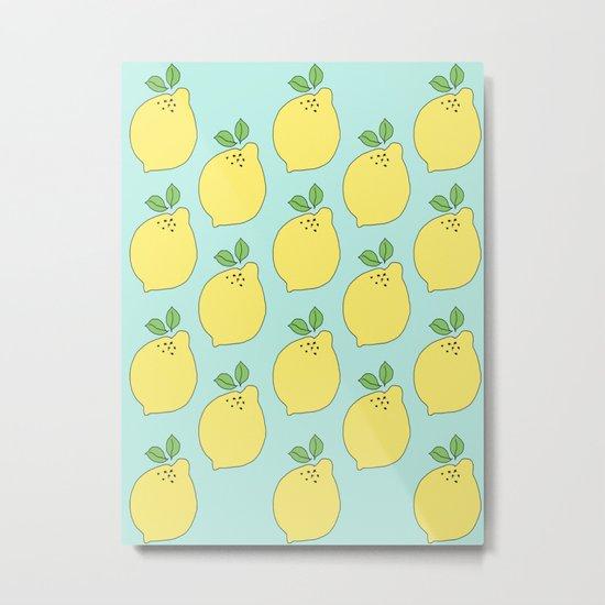 Time to Make the Lemonade Metal Print