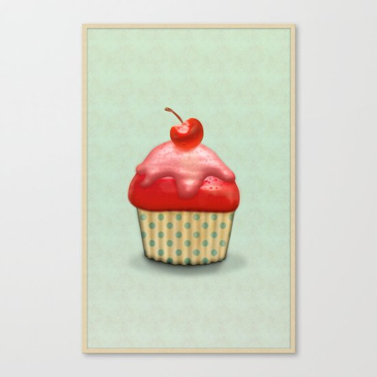 Muffin Canvas Print