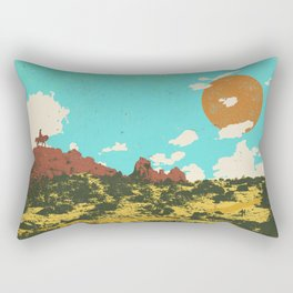 DESERT DUSK Rectangular Pillow
