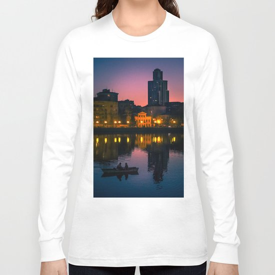 Night boating Long Sleeve T-shirt