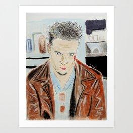 Brad Pitt-Tyler Durden Art Print