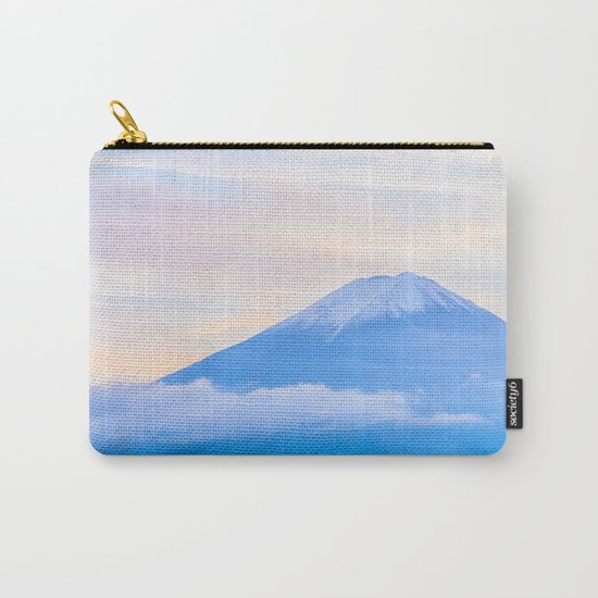 pastel mountain #sky Carry-All Pouch