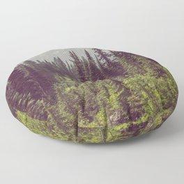 Faraway - Wilderness Nature Photography Floor Pillow