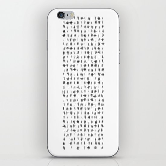 2014 Crisis Calendar White iPhone & iPod Skin