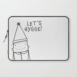 Scandinavian Hygge illustration art Laptop Sleeve