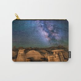 Milky Way Night Sky Over Mountains Carry-All Pouch