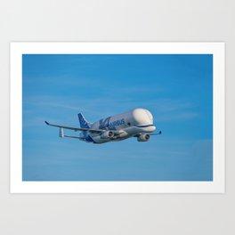 Airbus Beluga XL supertransporter Art Print