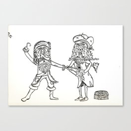 A Pirates Life Canvas Print