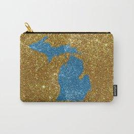 Michigan glitter Carry-All Pouch
