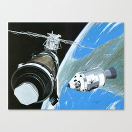 Saving Skylab Canvas Print