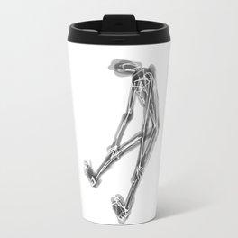 exhausted figure Travel Mug