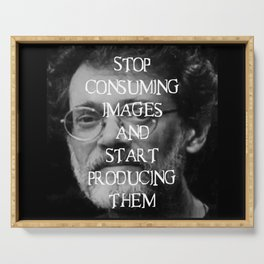 Terence McKenna Quote Serving Tray