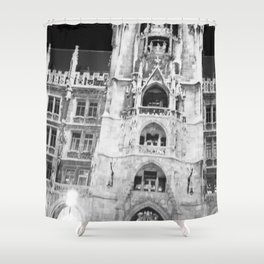 Town Hall Shower Curtain