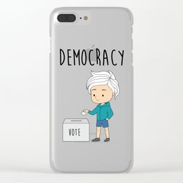 International Day of Democracy - celebrate the day for the human rights Clear iPhone Case
