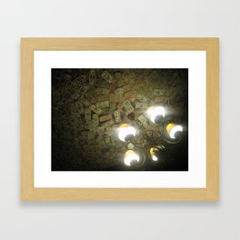 Ceiling of the Grenadier Framed Art Print