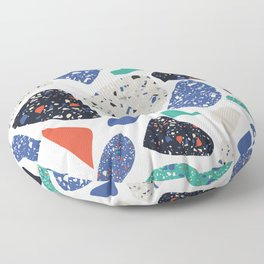 Abstract stones pattern Floor Pillow