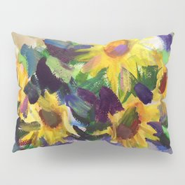 Still Life with Sunflowers Pillow Sham