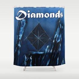 Diamonds Suit Shower Curtain